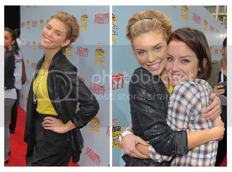 annalynne mccord,jessica stroup,90210,variety youth award,power of youth,los angeles,2009