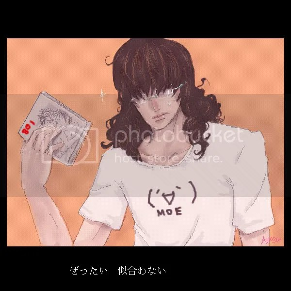 Gaaaa....!!! I cant think of any seme/uke characters with curly hair!!!