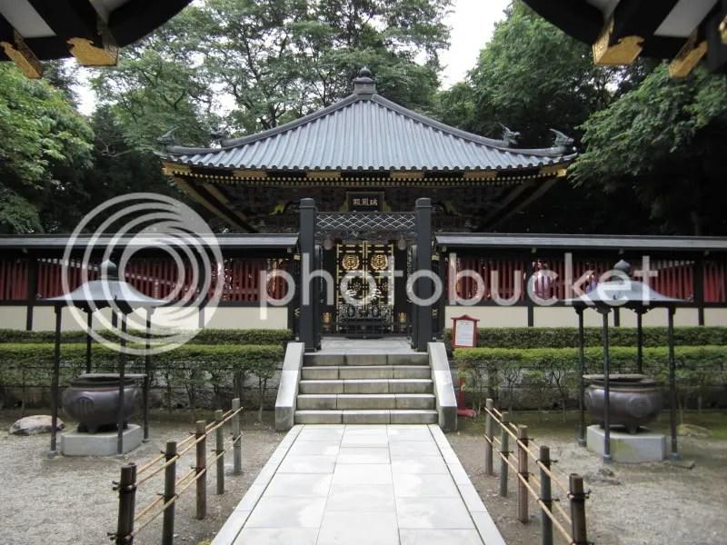 Zuihoden mausoleum.