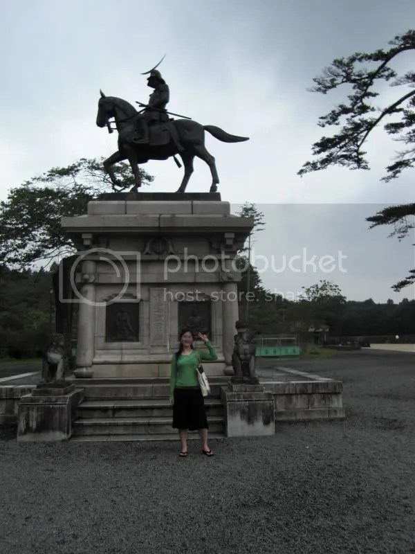 Fuujoshi paying respects to MasaMoe Date
