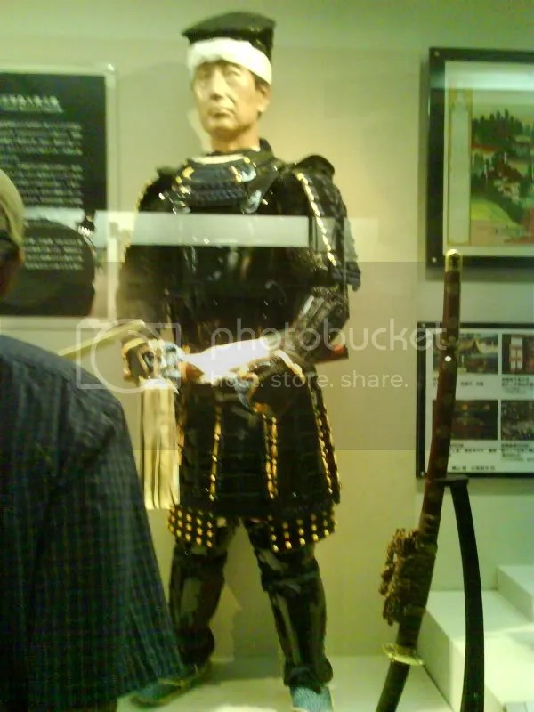 Reconstruction of Date Masamune from his remains.