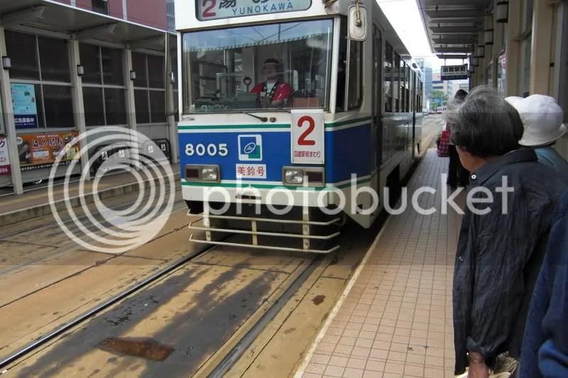 Streetcar of Hakodate