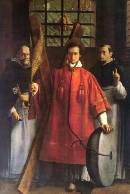 Ecole de Francisco Ribalta. XVIIe.
