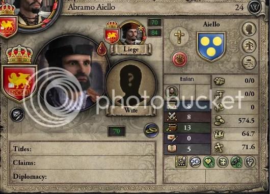Abramo Aiello, 1307