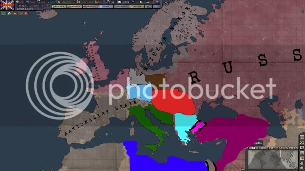 Europe, 1943