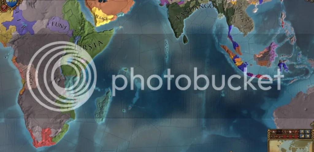 Indian Ocean, 1524
