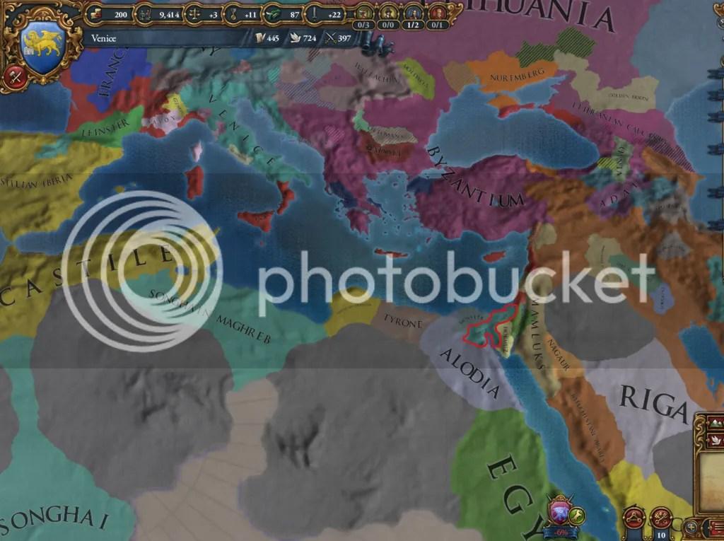 Mediterranean, 1455.