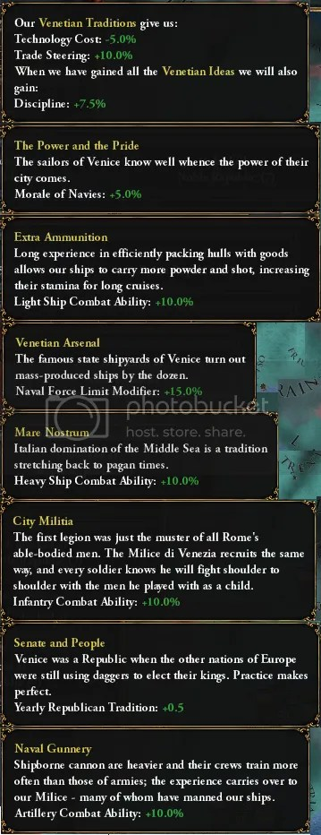Venetian Ideas