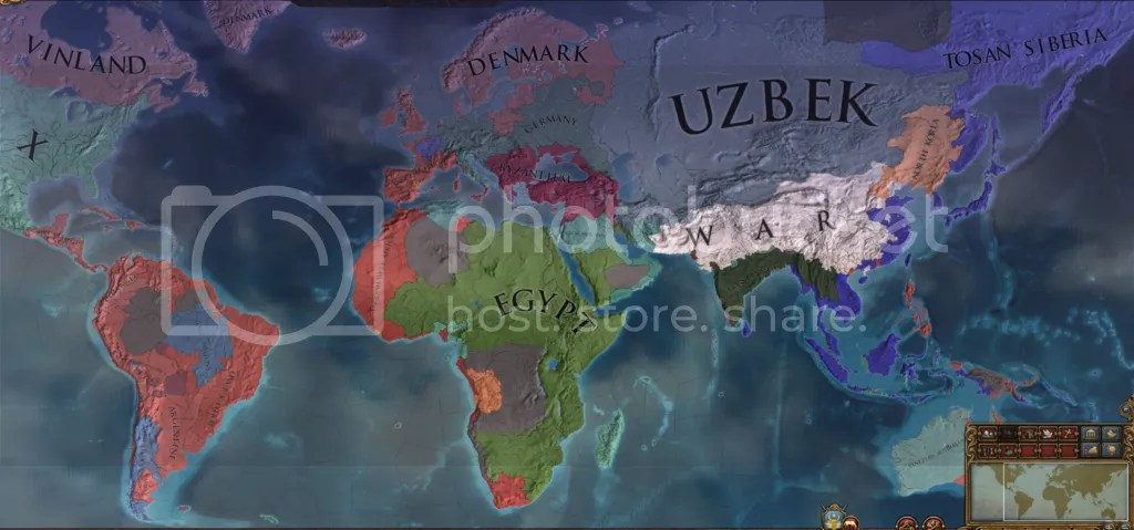 World map, 1795
