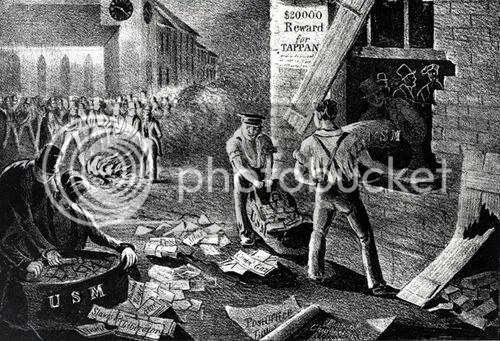 Pro slavery mob
