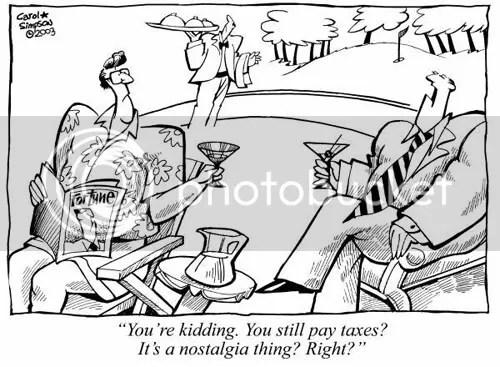 Tax nostalgia