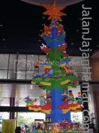 Christmas tree from Lego