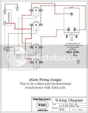 Warn Winch Wiring Diagram 4 Post Warn Winch Parts  Wiring Diagrams