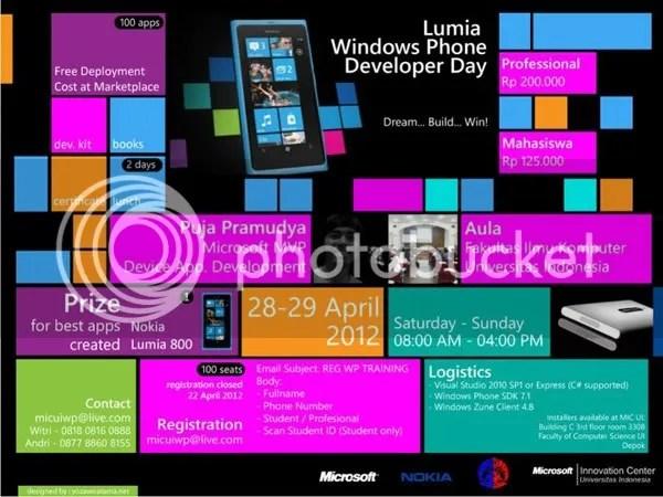 Lumia Windows Phone Developer Day