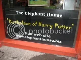 The Elephant House, birthplace of Harry Potter, Edinburgh