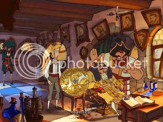 Y esta sera nuestra tripulacion, barberos piratas, el ultimo grito naval.