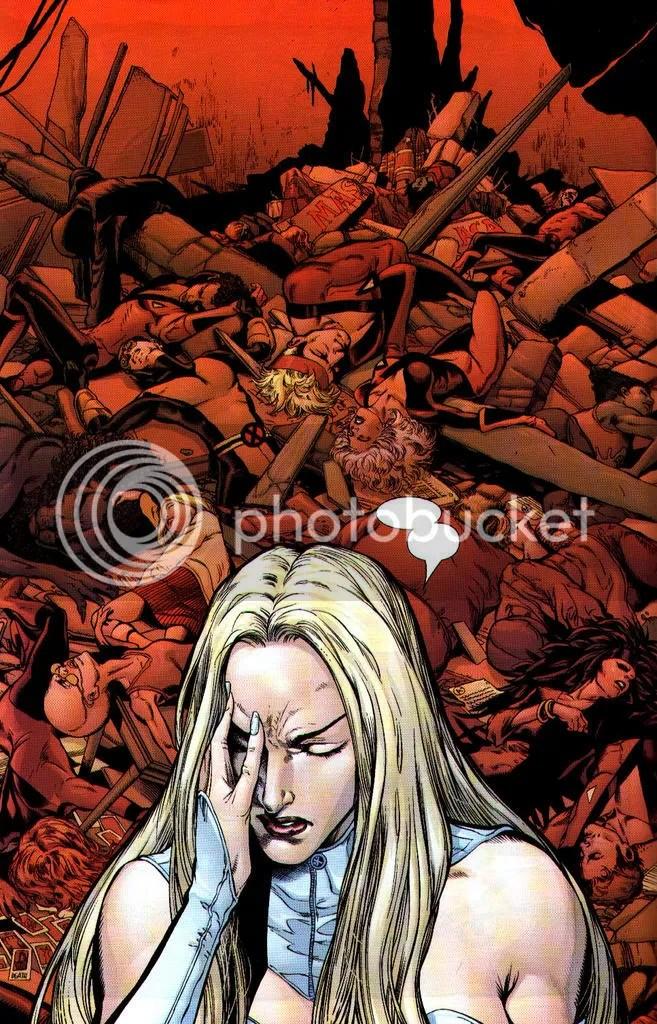 Tranquila, creo que Xavier te supera en alumnos muertos, otra cosa es que sean reacios a resucitar cada dos por tres.