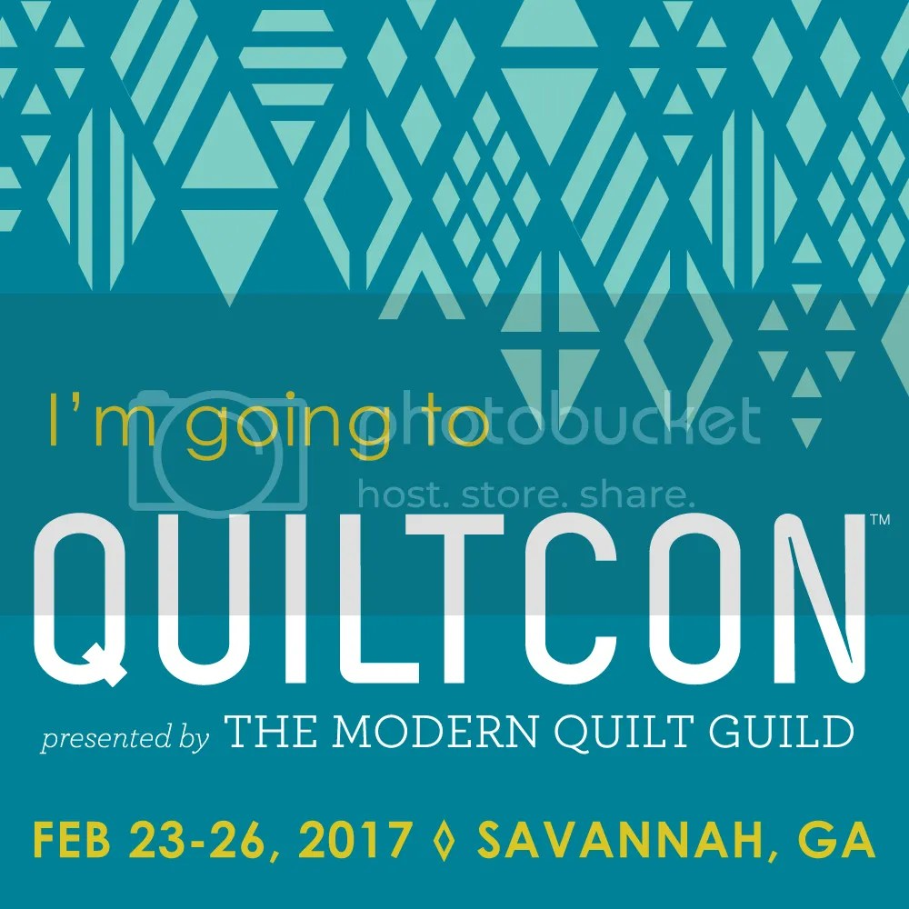 """""""I'm Going to QuiltCon!"""