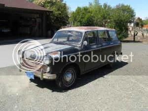 1962 Datsun 312 wagon front