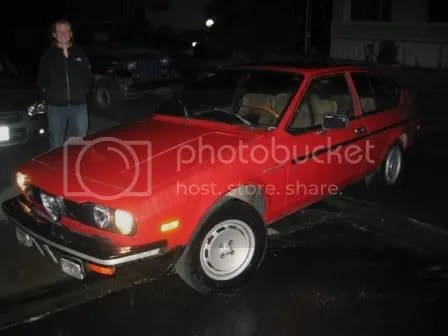 1979 Alfa Romeo Sprint Veloce, purchase day!