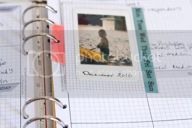 22 Ways to Use project Life Cards - planner photo card
