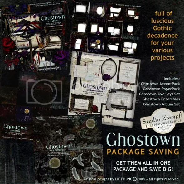 Ghostown Package Saving