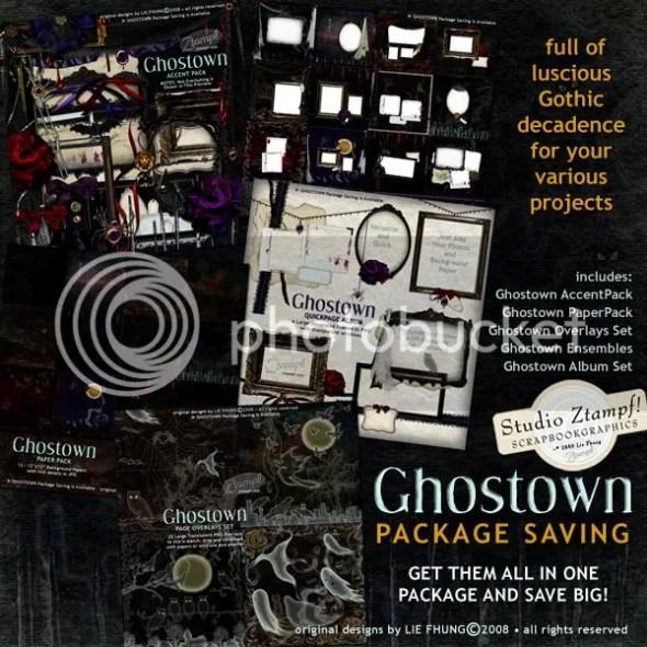 Ghostown Package Saving