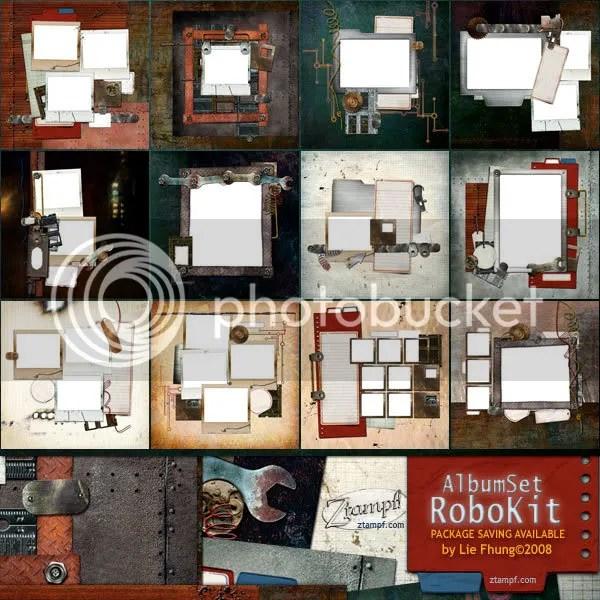 Ztampf! RoboKit Album Set