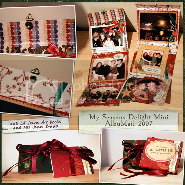 My Mini AlbuMail for Christmas 2007