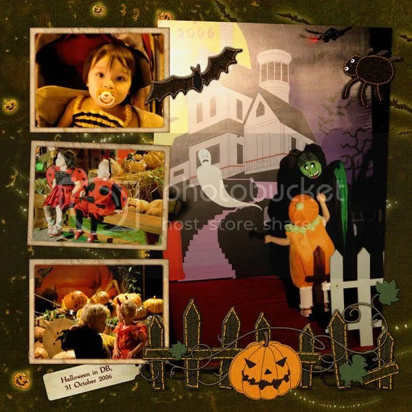Halloween at DB, 2006