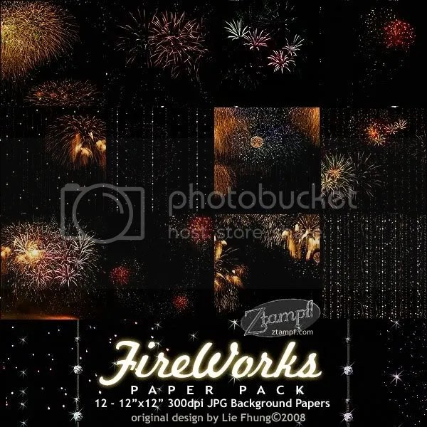 Ztampf! FireWorks Paper Pack