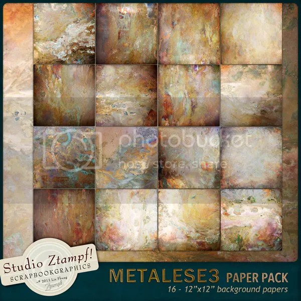 Ztampf! Metalese Three Paper Pack