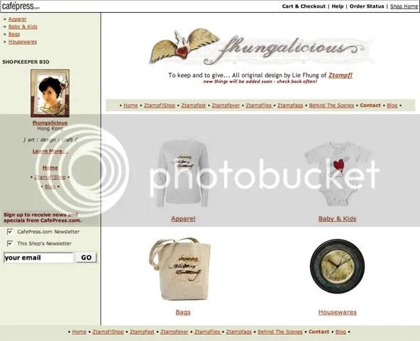 Fhungalicious CafePress