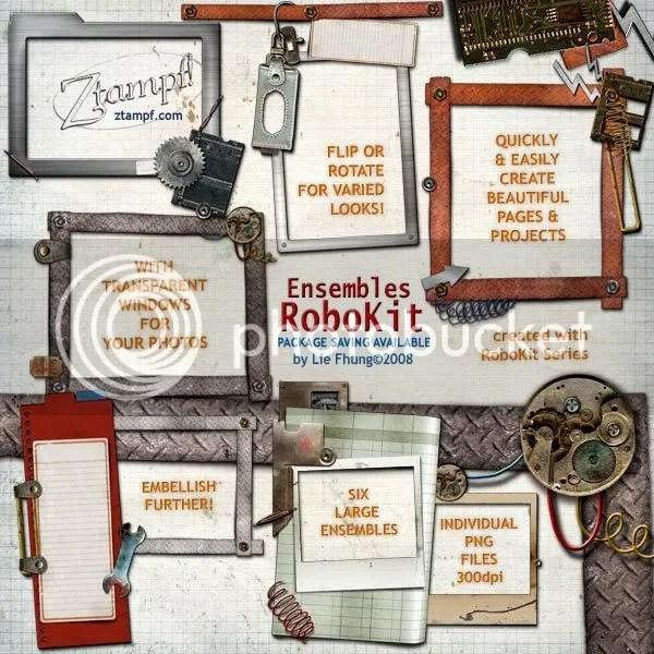 Ztampf! RoboKit Ensembles Set