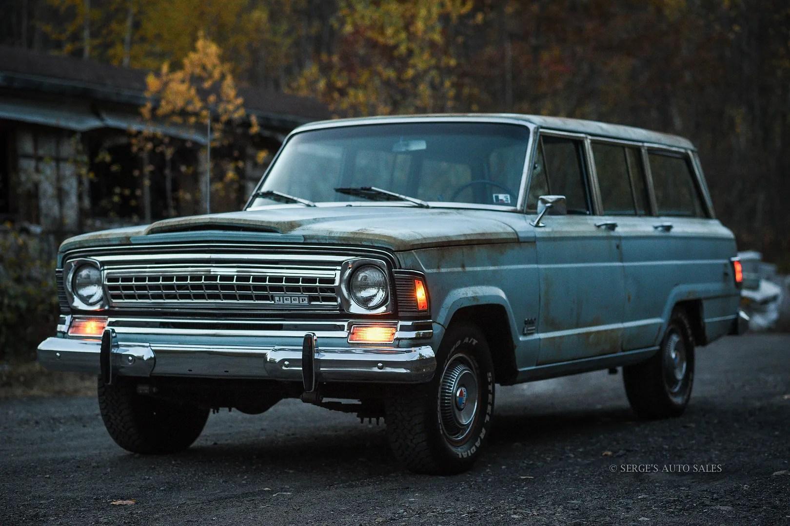 1972 jeep wagoneer survivor serges auto sales of northeast pa. Black Bedroom Furniture Sets. Home Design Ideas