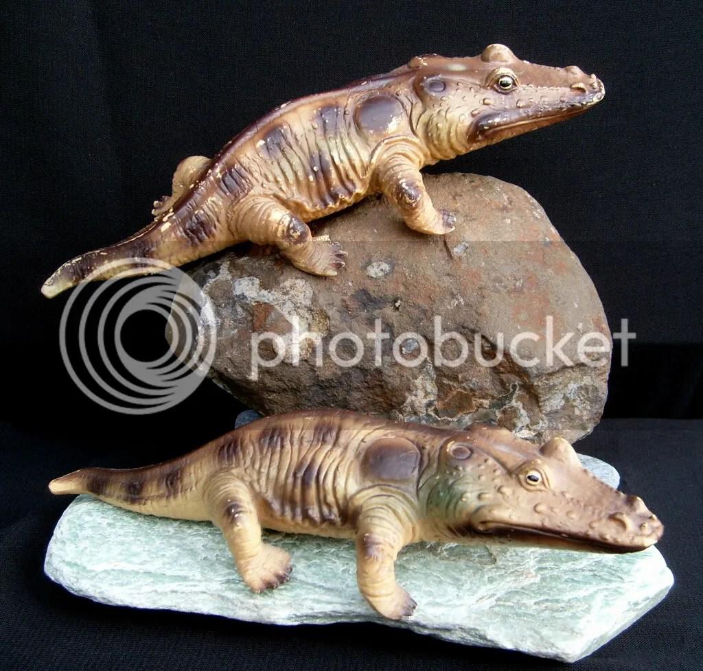 My Prehistoric Amphibian Collection
