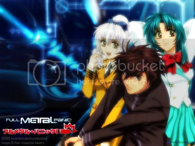 Full Metal Panic cast