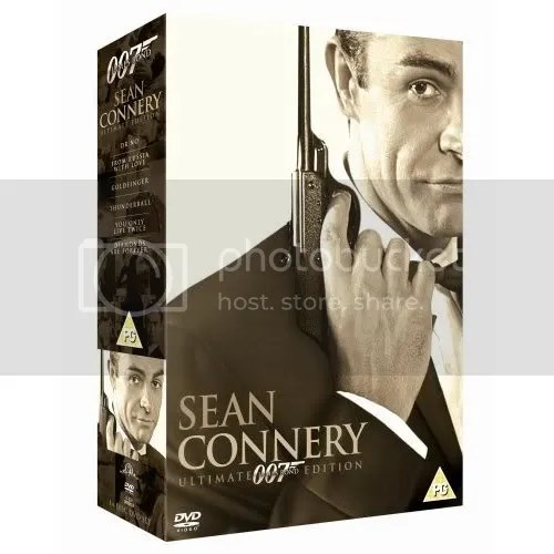 UK Sean Connery box set