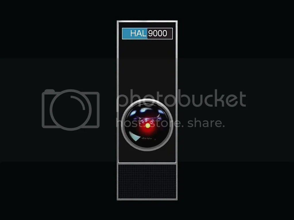 HAL 9000, the most animated actor in the film.