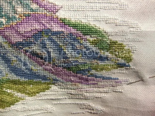 close up back stitch