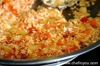 How to make African Jollof rice Recipe