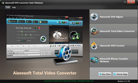 Aiseesoft DVD Converter Suite Platinum 6.2.36.8184