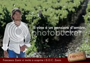 Francesco Zonin testimonial dell'azienda