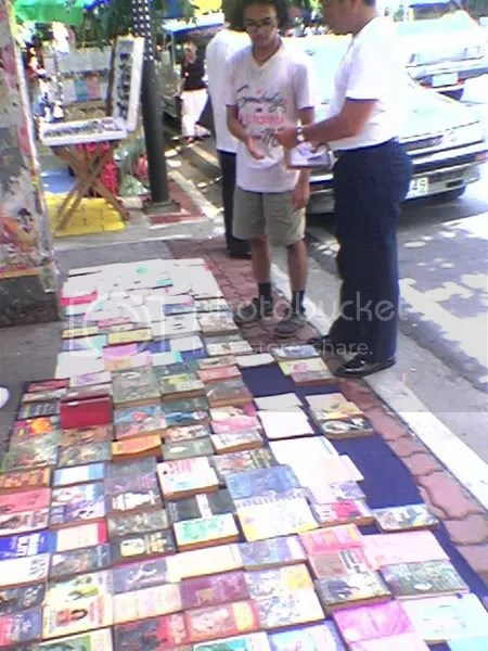 books!!!!!  on the street?!?!?!?!?!?!!?