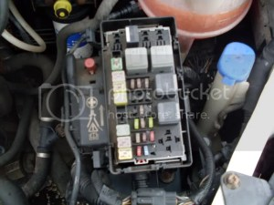 Ford Transit Forum • View topic  MK 7) Fuse Details Fuse Box Location