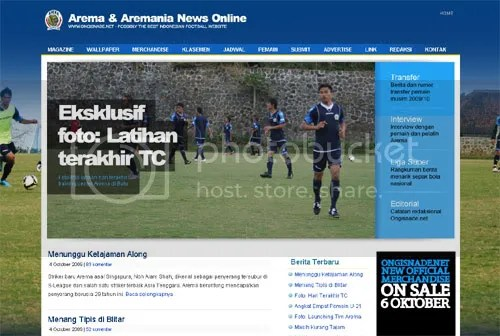 Ongisnade.net - Arema News Online