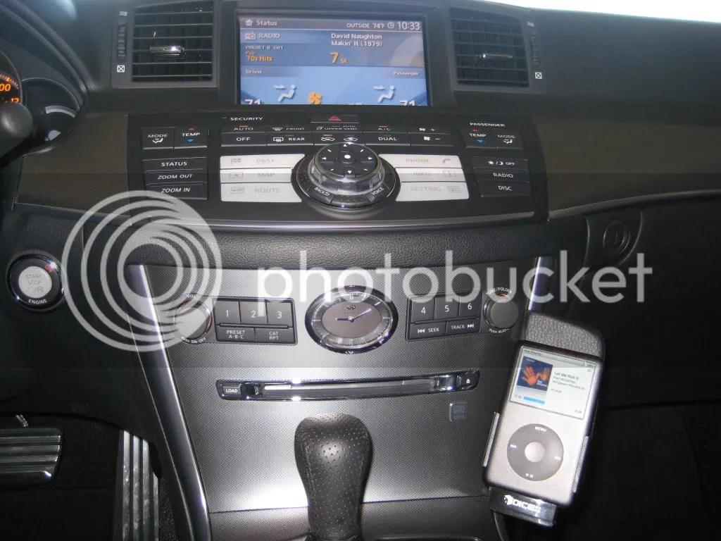 2007 M45 Ipod Update Nissan Forum Nissan Forums