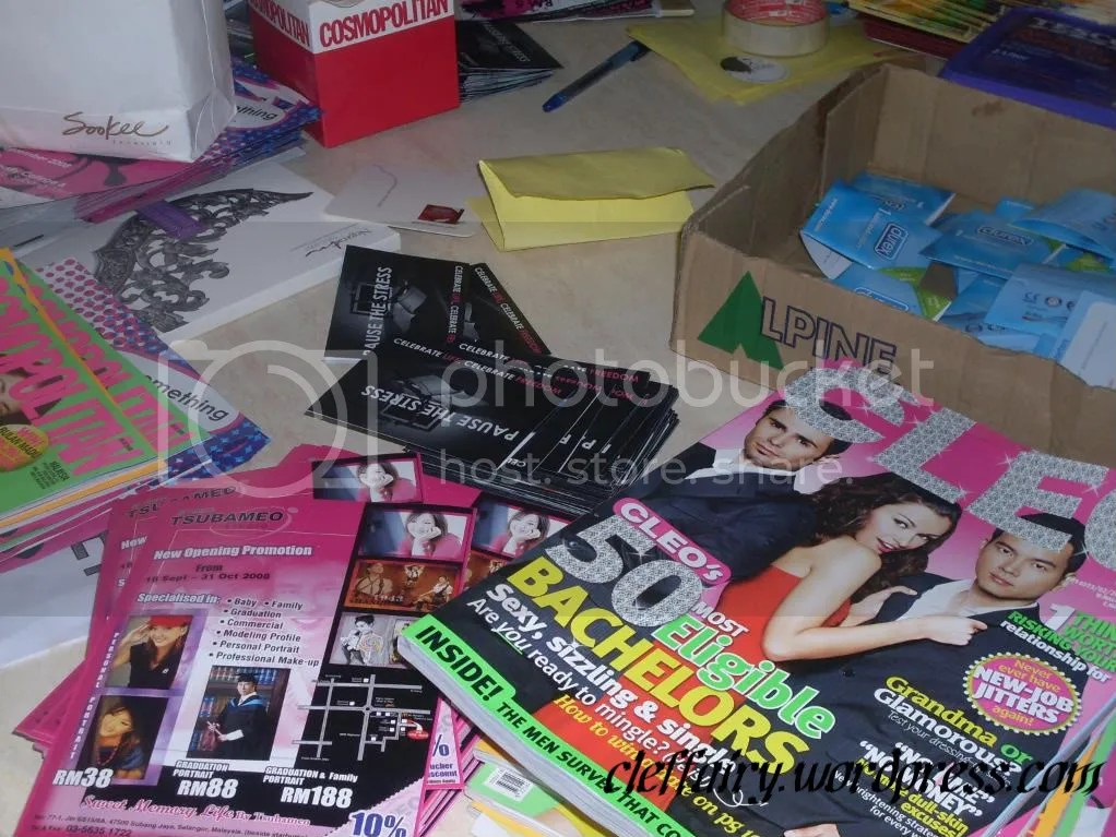 Freebies, almost out of stock
