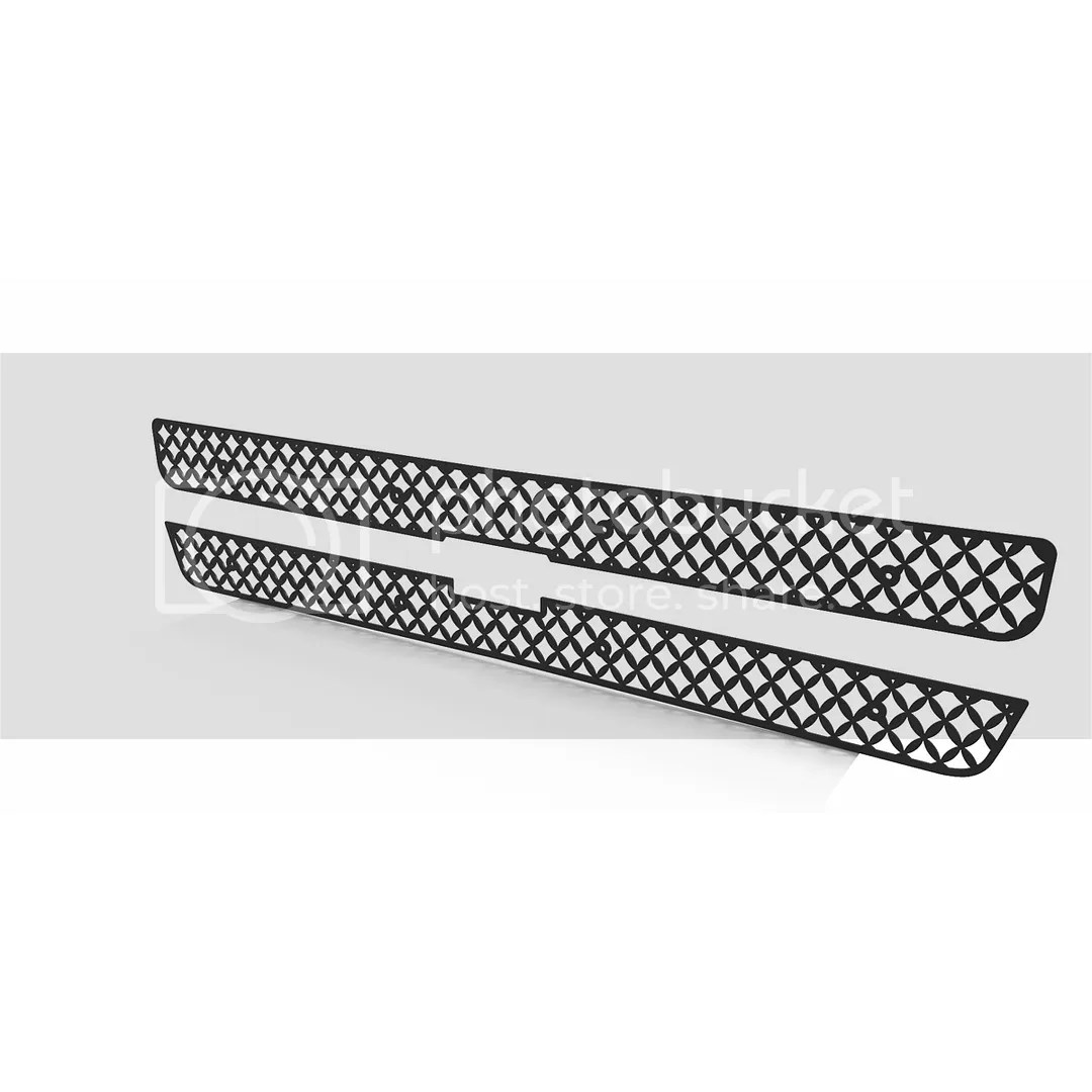 Grille Insert Guard Mesh Punch Black Fits 00 06 Chevy