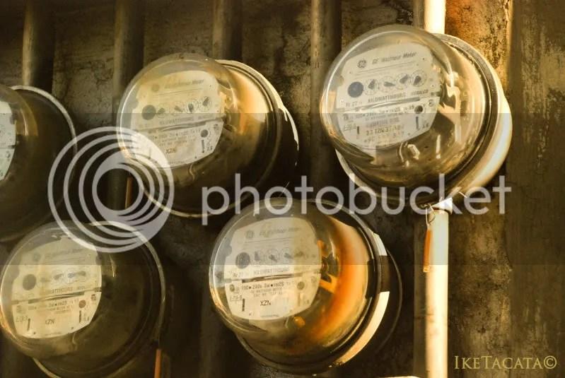 "Electricity meter - ""Metro"""